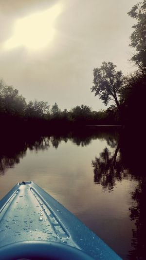Hanging Out Kayaking River View From My Point Of View Hello World Enjoying Life Clouds And Sky Nature