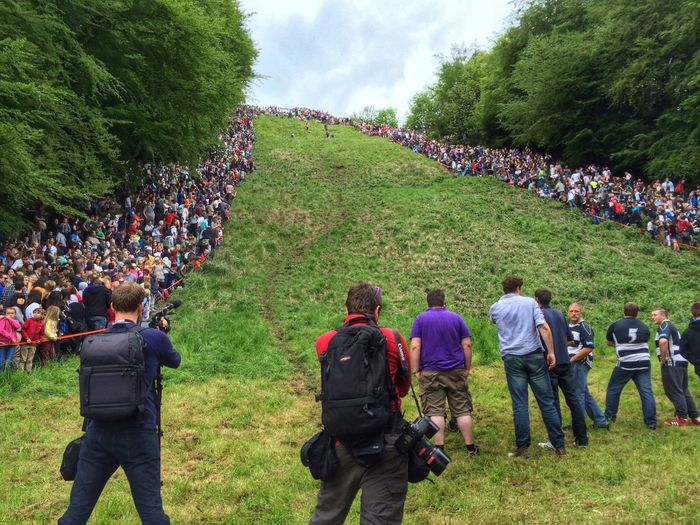 One from the bottom... Cheese Rolling