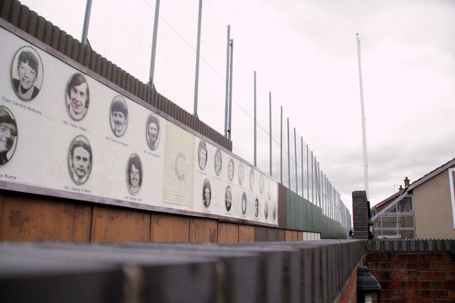 Peace Wall, West Belfast. Stree Photography