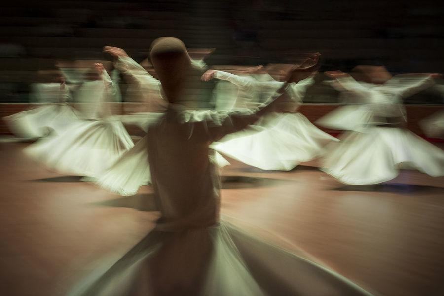 dance in the dream Dreams Long Exposure Shot MevlanaRumi Türkiye Konya Raks Semazenler Sony A6000