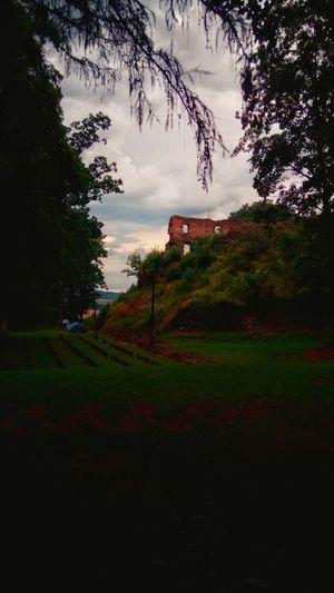 Cimburk Castle Light Colors Composition Atmosphere Good Time Visit