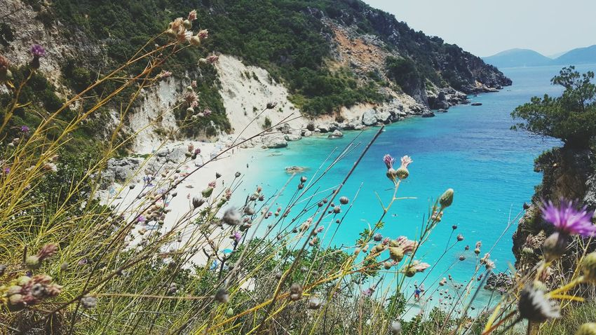 Vacations Sea Water Beauty In Nature Lefkada, Greece Sand Beach Summer Memories 🌄