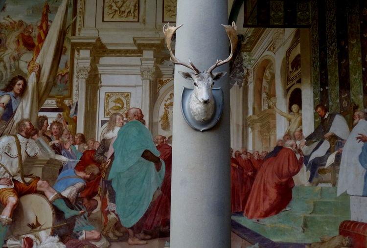 Architecture Deer Deers Eye4photography  EyeEm EyeEm Best Shots EyeEm Gallery EyeEmBestPics Eyeemphotography Indoors  My Year My View Panting Pantings Religion Renaissance Renaissance Architecture Renaissance Beauty Renaissance Festival Spirituality