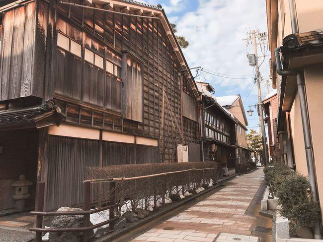 Kanazawa,japan Building Exterior Built Structure Architecture Day Outdoors Sky Window