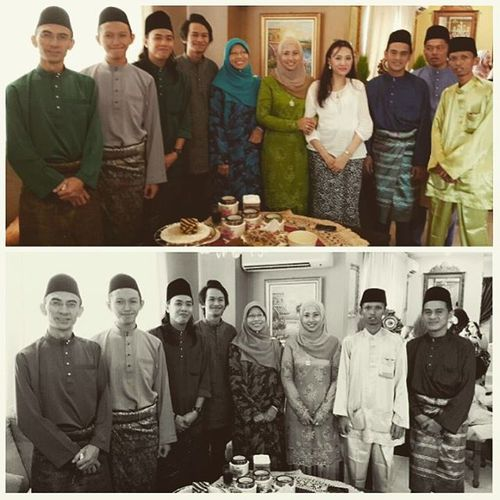 My Last Day of Eid in Kuching. LaFamilia Anuarians .