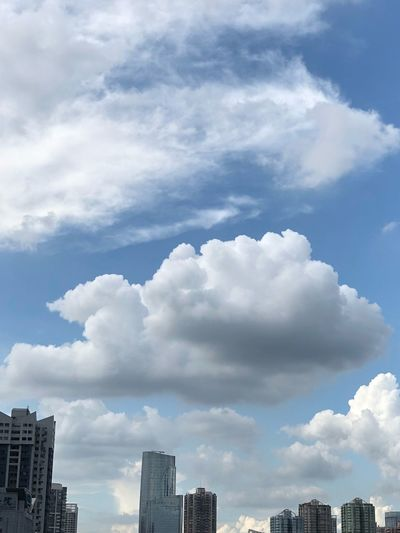 IPhoneography Cloud - Sky Sky Architecture Built Structure Building Exterior City Building Sunlight No People Day