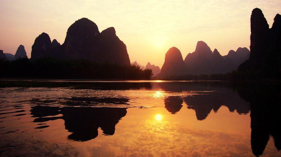 Sunset China
