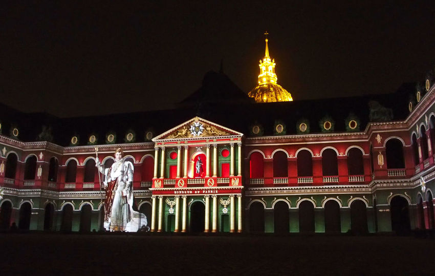 2016 Armee DeGaulle History Invalides  Louisxiv Louisxiv Mapping Festival Napoli Nocturnal Paris Spectacle
