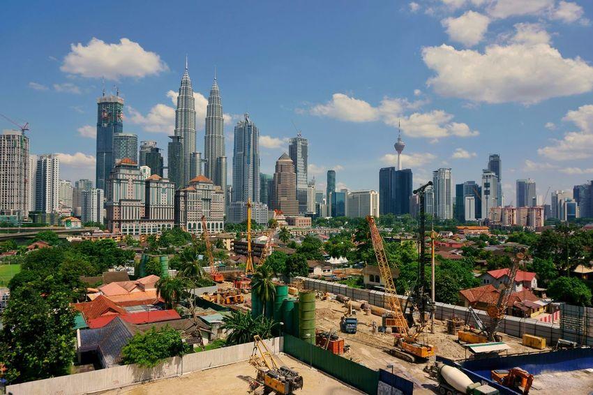 Kuala Lumpur skyline Skyline Kuala Lumpur Office Vacation Admin Office Malaysia Travel Cityscape