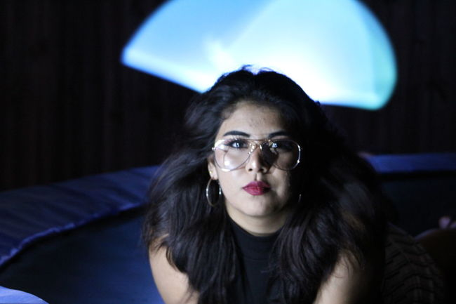 One Woman Only Only Women One Young Woman Only Adult Adults Only Young Adult Portrait One Person Looking At Camera People Young Women Headshot Human Body Part Eyeglasses  Beautiful Woman Arts Culture And Entertainment Women Indoors  Close-up Day Longexposurephotography Lights Looking At Camera