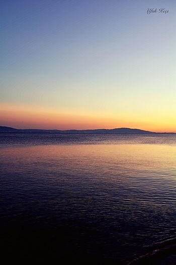 Kumla,gemlik Scenics Tranquility Beauty In Nature Tranquil Scene Nature Sea Sunset