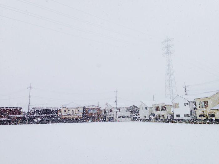Winter Snow Tokyo Iponeography