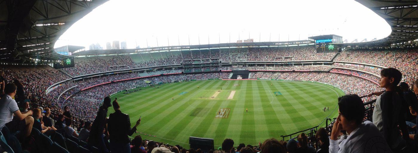 Cricket Ground Stadium Sport Crowd Mcg