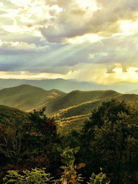 Mountain Nature Mountain Range Landscape Beauty In Nature Sky The Great Smoky Mountains The Week On EyeEm Day Outdoors
