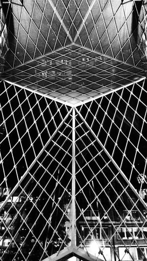 Architectural Detail Urban Landscape Structures Out Of The Cage