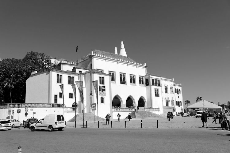 Palace Blackandwhite Light And Shadow Streetphotography Eye4photography  Bnw Black And White EyeEmBestPics EyeEm Best Shots Sky And Clouds EyeEm Blackandwhite Photography Black&white EyeEm Gallery Arquitecture Taking Photos at Palacio Nacional De Sintra Sintra Portugal
