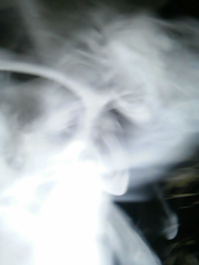 no tricks sectre camshot sunglasses? Spectreography Ghost Smoke Phenomena Close-up