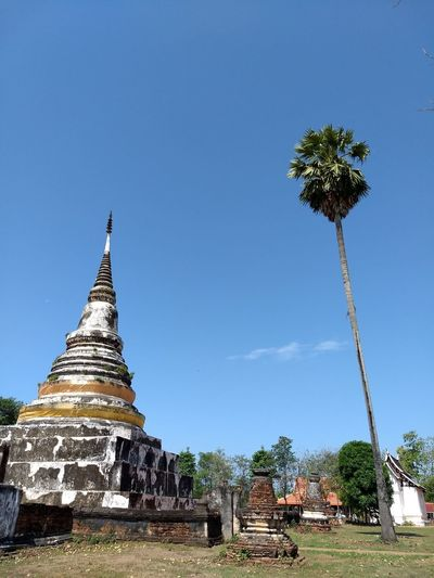 old temple in Thailand Old Temple Place Of Worship City Religion Sky Architecture Building Exterior