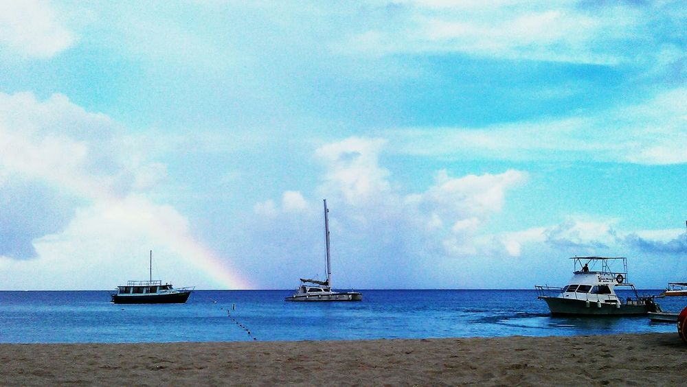 Rainbow Aruba One Happy Islan ❤just Gorgeous Aruba Peaceful Pure Bliss Check This Out Nature Beach Life Is A Beach