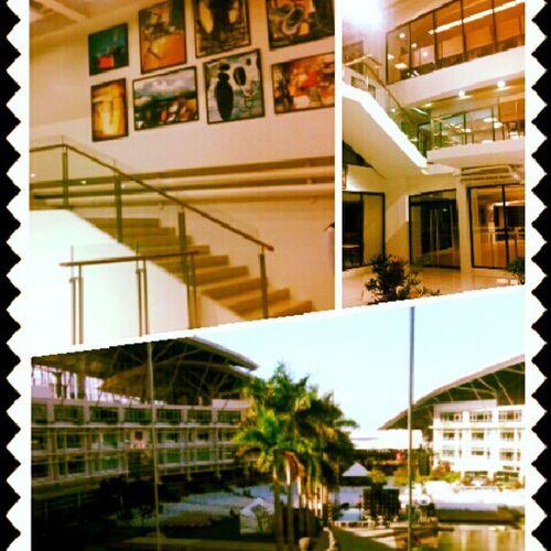 LPU Cavite new building. Library View Sunsetromance