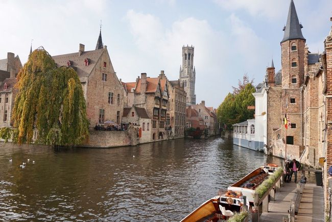 Brugge Architecture Water Canal
