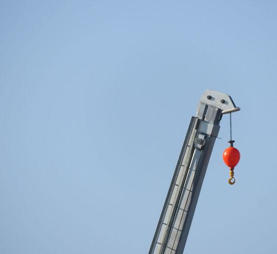 Copy Space Sky Crane - Construction Machinery Tall Tall - High