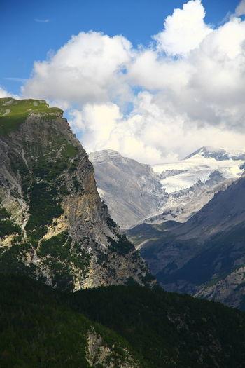 Alps Italy Alps Day Height High Horizon Italy Landscape Mountain Nature No People Outdoors Peak Range Scenery Sky Wallpaper