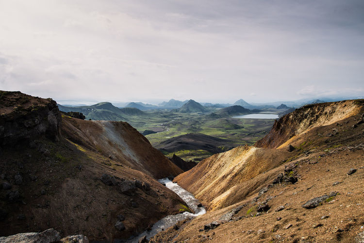 Day Hiking Iceland Landscape Laugavegur No People Outdoor Outdoors Scenics Wandern