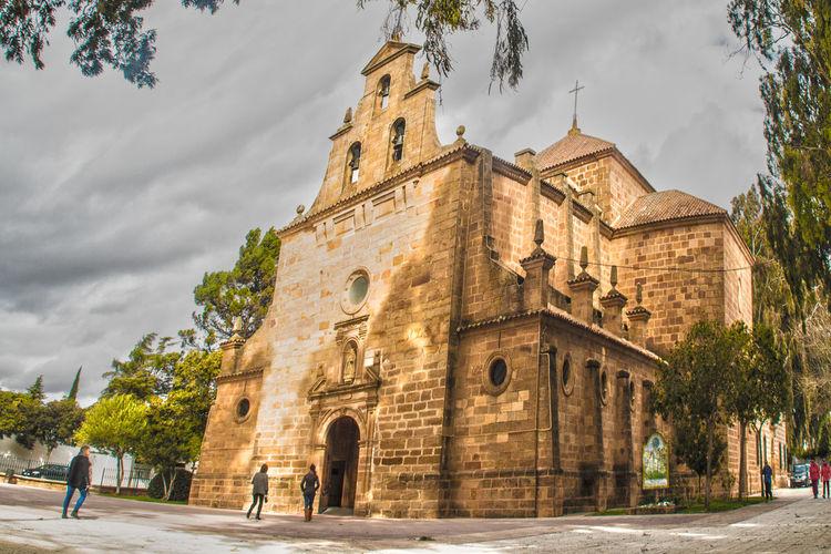 Edificio Religioso Fé Jaen Province Linares Religión Popular Santuario Santuario Virgen De Linarejos Virgen De Linarejos