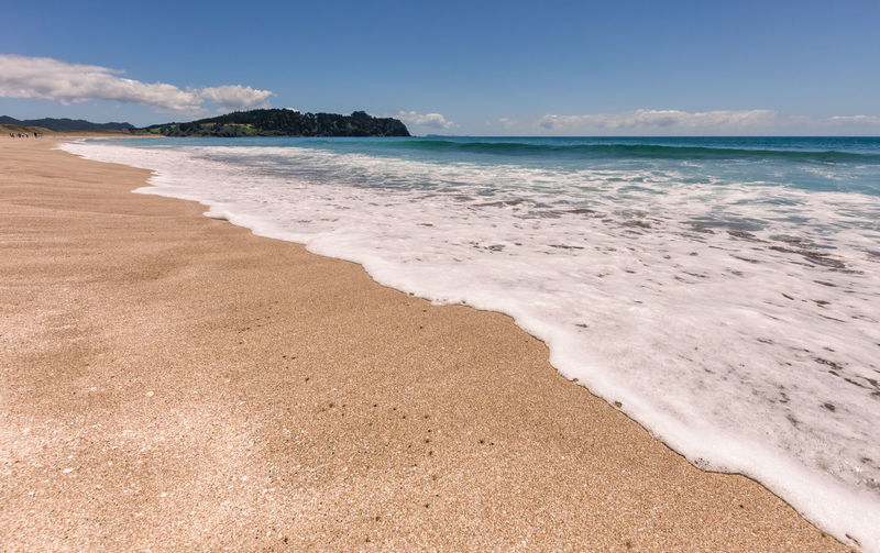 Hot Water Beach - Hahei on the East Coast of Coromandel Peninsula, North Island, New Zealand Hot Water Beach Coromandel Peninsula Beachphotography Beauty In Nature Beach Photography Life Is A Beach New Zealand New Zealand Scenery New Zealand Beauty North Island Splashing Volcanic Landscape Landscape Landscape_Collection Landscape_photography Wide Angle Panorama Beach Life Natural Natural Beach Absence Empty Travel Destinations Surf Coastline Sea Beach Land Water Sky Scenics - Nature Sand Tranquility Wave Nature Motion Tranquil Scene Cloud - Sky Outdoors Horizon Over Water
