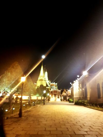 Emerald Buddha Temple Bangkok EyeEmNewHere Thailand Night Palace Night Sky