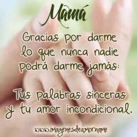 Gracias Mami! ♡♥♡ Tequiero Teextraño Teamo
