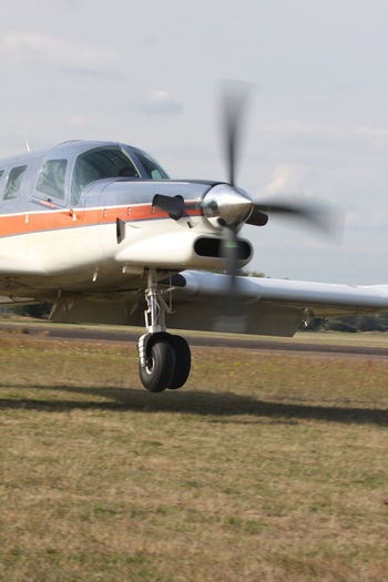 Acceleration Airplane Airport Runway Cloud - Sky Day Flying Mode Of Transport PAC 750 XL Sky Speeding Up Take Off Transportation Travel