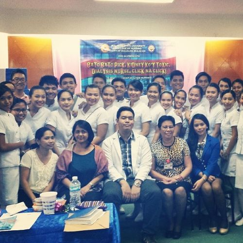 Big thanks to Bulacan State University BSN 4A students for the invitation as resource speaker. It was a fun filled and memorable experience. All the best!
