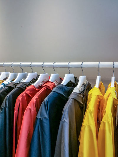 Choice Close-up Clothes Rack Clothing Clothing Store Coathanger Day Fashion Hanging Indoors  Large Group Of Objects Menswear No People Retail