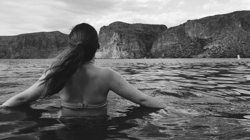 Swimming Lake Best Friends Blackandwhite Nikon Beautiful Day
