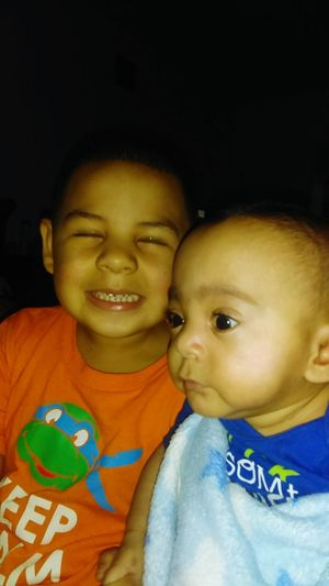 Silly Face Serious Face Brothersforlife He Loves Him Baby Brother Big Brother Big Eyes