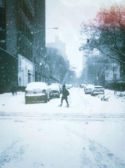 Pedestrian. EyeEm Best Shots Streetphotography Winter Urban Snow