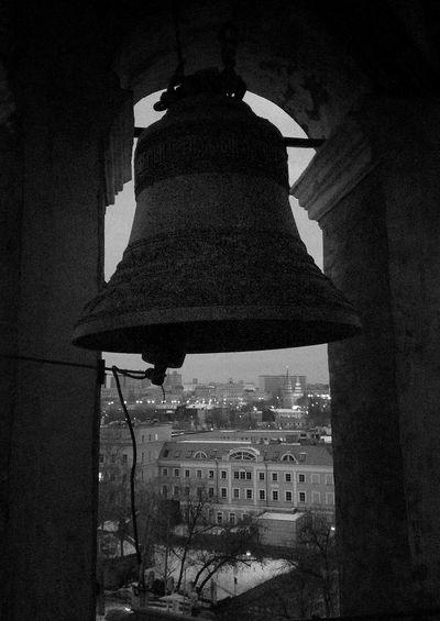 Black&white Monochrome My City Bell