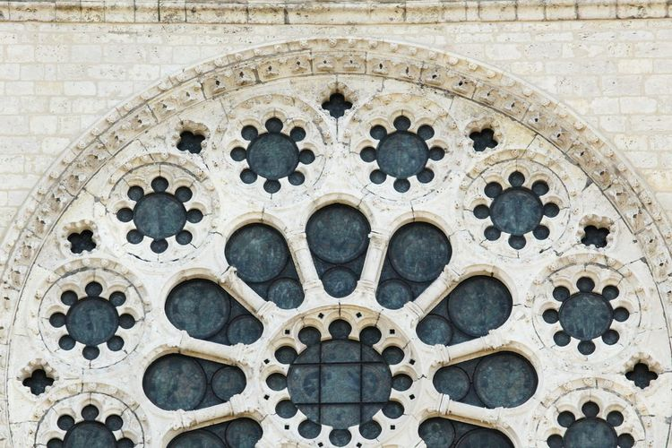 Outside the Chartres Cathedral close-up EyEmNewHere Vitral EyeEm Selects Full Frame Pattern Backgrounds Place Of Worship Close-up Architecture Built Structure Building Exterior Historic Architecture And Art Architectural Detail Cathedral History