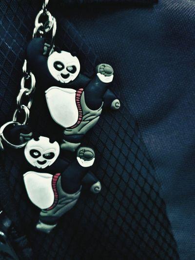 Panda - Animal Close-up Key Chain Indoors  No People School Bag Girls Bag