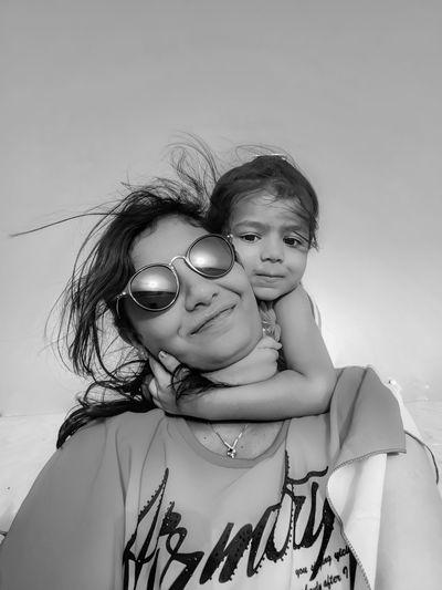 Child Portrait Childhood Togetherness Females Girls Summer Smiling Bonding Daughter Single Parent Posing Sand Dune Desert Arid Landscape Arid Camel Namib Desert Family Bonds #NotYourCliche Love Letter International Women's Day 2019