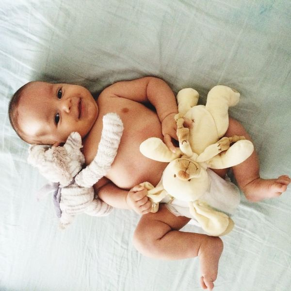 Istanbul Baby Cute Lying Down Babyhood High Angle View Esraozcelik Ertugrul One Person Indoors  Relaxation New Life Newborn Full Length Childhood Beginnings Day