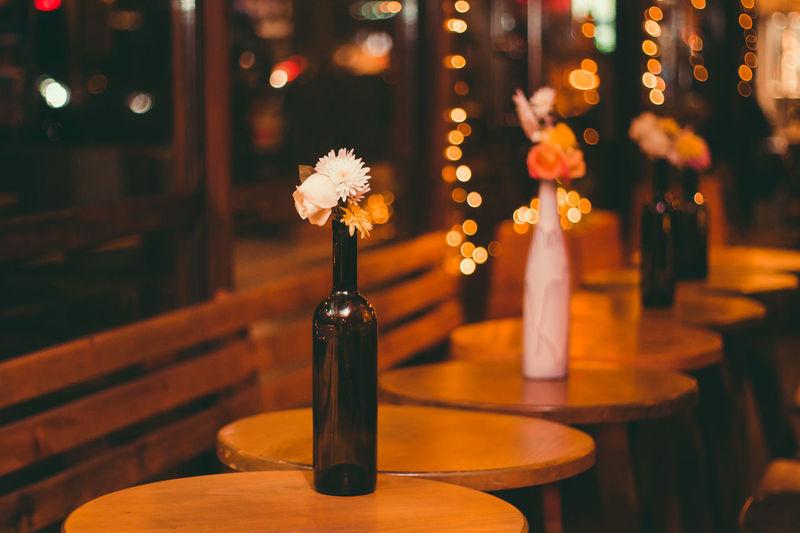 Wine and lights