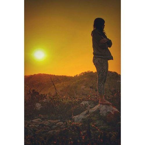 """Bahasa jerman'e adalah """"kekaring"""" Sunrise Pantai Sundak Gunungkidul"""