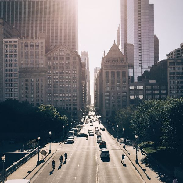 Chicago Chasinglight Light And Shadow Street Cityscapes City Architecture The Architect - 2016 EyeEm Awards