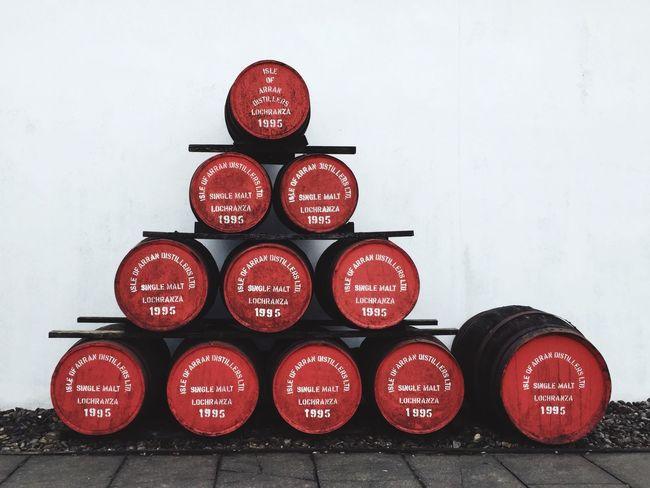 Isle of Arran Distillery Arran  Scotland Whisky Whisky Barrels Scotch Whisky Oak Barrels Angels Share Photooftheday EyeEmBestPics