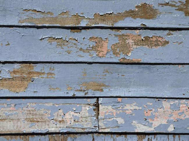 Architecture Backgrounds Bad Condition Blue Close-up Color Image Cracked Damaged Day Detail Deterioration Full Frame No People Outdoors Paint Peeled Peeling Textured  Wall Wall - Building Feature Weathered Wood - Material Worn Out