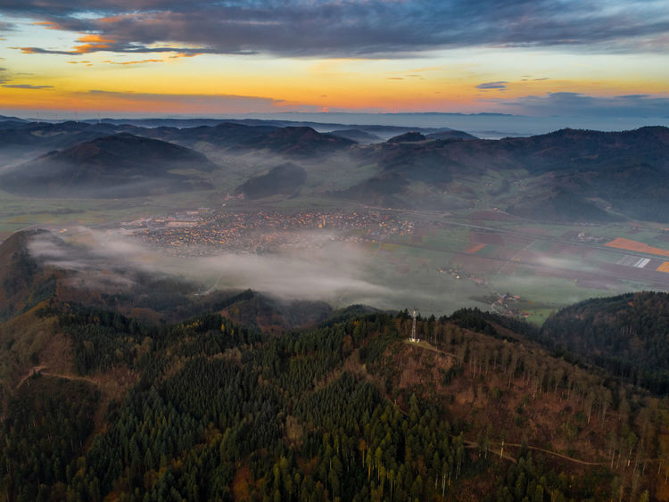 Drone  Beauty In Nature Cloud - Sky Day Dronephotography Droneshot Landscape Mountain Mountain Range Nature No People Outdoors Scenics Sky Sunset Tranquil Scene Tranquility Tree