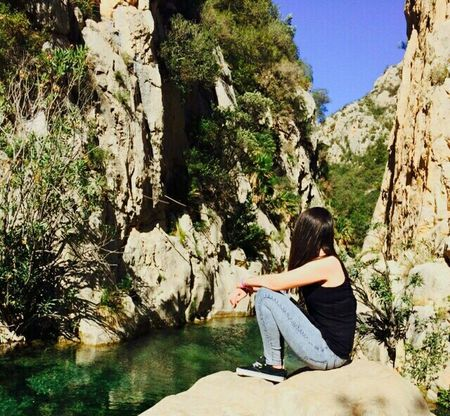 Lesfontsdelalgar Nature Callosa Girl Water Love Colors Relaxing Pretty Mountains